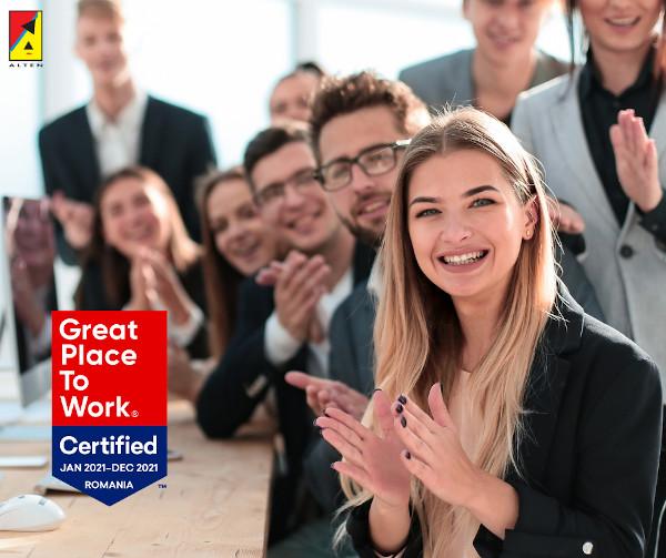 ALTEN_certificare GPTW 2021