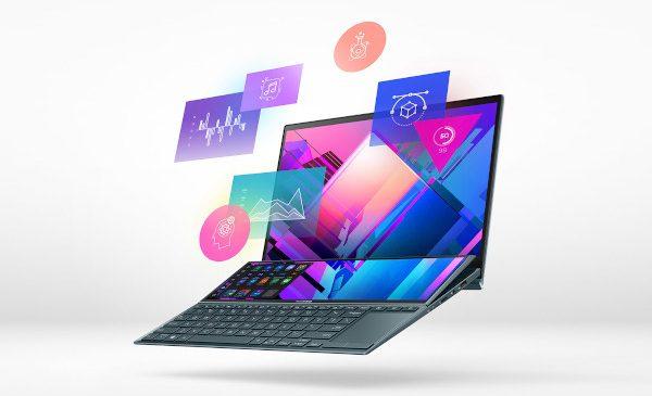 ASUS anunță cele mai noi laptopuri ZenBook cu două ecrane și introduce ScreenPad Plus cu mecanism de înclinare