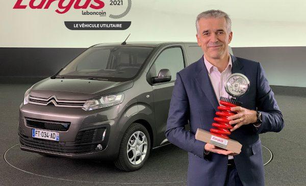 "Citroën ë-Jumpy a câștigat premiul L'Argus ""Van of the Year 2021"""