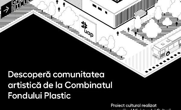 Se lansează Combinat – un microsite despre comunitatea artistică și creativă a Combinatului Fondului Plastic din București