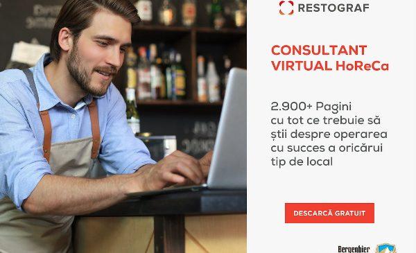 Restograf lansează Consultant Virtual, primul ghid complet pentru deschiderea, operarea și managementul de succes al oricărui tip de local