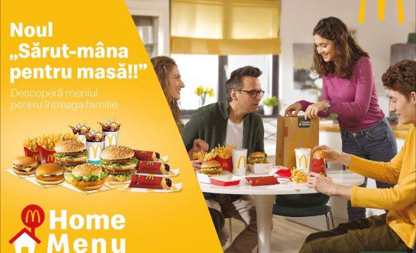McDonald's şi DDB România lanseazӑ Home Menu – un meniu pe care nimeni nu îl poate refuza