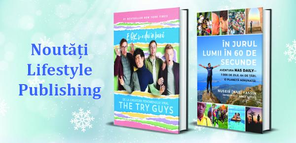 Noutățile începutului de an de la Lifestyle Publishing