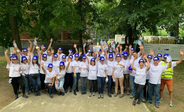 Retrospectiva angajamentelor Saint-Gobain România față de comunitate în anul 2020