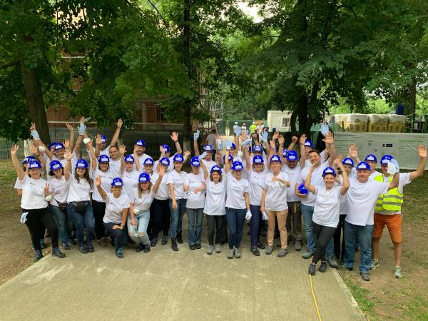 Saint-Gobain_ Voluntariat Buftea 2019