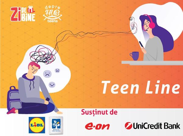 Teen Line x Asociatia Zi de Bine