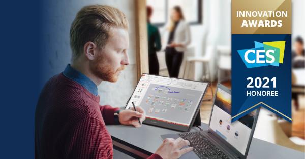 ViewSonic's TD1655 – monitorul ideal pentru deplasări – premiat cu distincția CES 2021 Innovation Awards Honoree