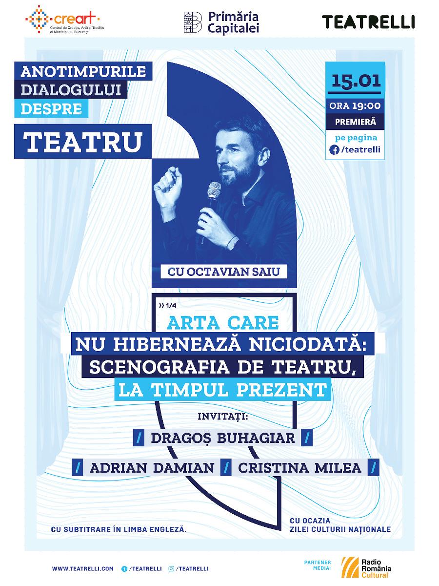 Teatrelli Anotimpurile dialogului despre teatru