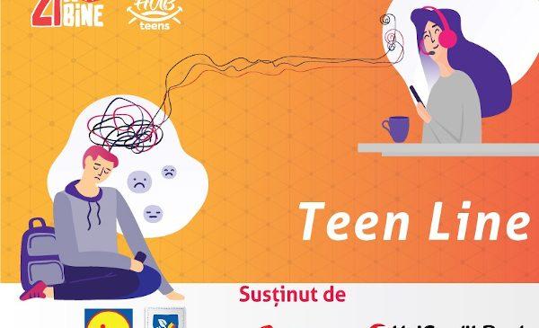 După un prim an în care a atras mai mult de 50.000 români și peste 1 milion de Euro pentru cauze ignorate, Asociația Zi de Bine susține primul proiect de sănătate emoțională pentru adolescenții din România: Teen Line