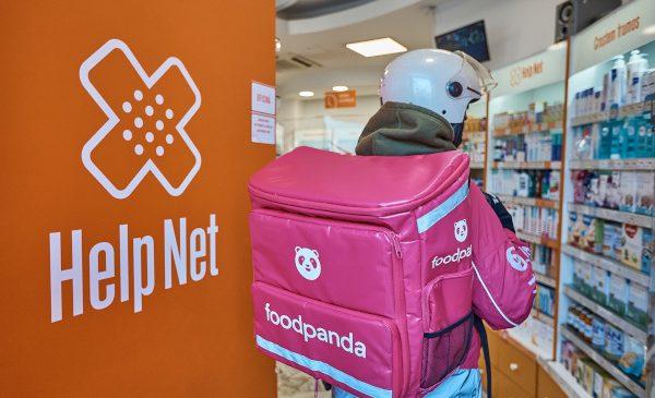 foodpanda România va livra rapid produse de la farmaciile Help Net