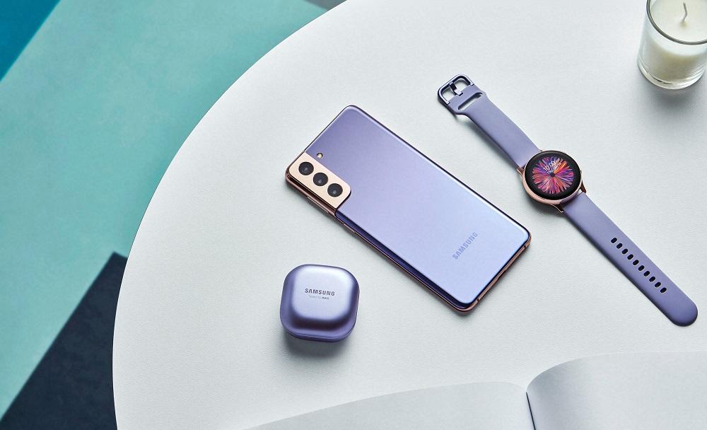 galaxys21, Galaxy Buds, Samsung Watch