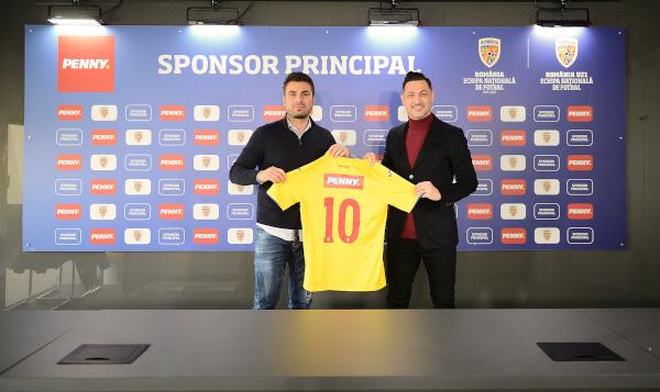 Penny sponsor principal al echipei naționale și al României Under 21