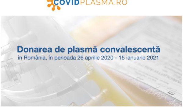 Aproape 10.000 de donatori de plasmă convalescentă și 1.250 de pacienți salvați în România de la debutul colectării de plasmă convalescentă