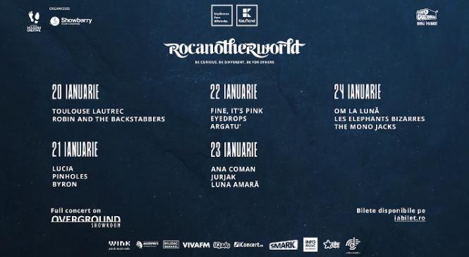 Rocanotherworld Winter Edition – spiritul de festival se simte de acasă, timp de 5 zile