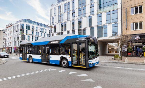 Solaris va livra 11 troleibuze la Târgu-Jiu