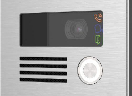 Interfonul de rețea AXIS I8016, robust, rezistent la vandalism, asigura comunicare bidirecționala, identificare video și control de la distanță al accesului