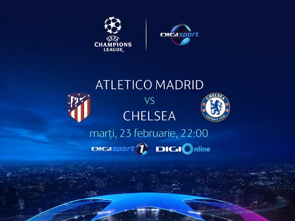 Atletico Madrid-Chelsea UCL
