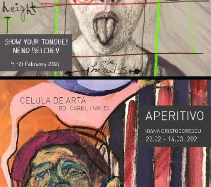 Galeria neconvențională Celula de artă aduce două expoziții în București, în luna februarie
