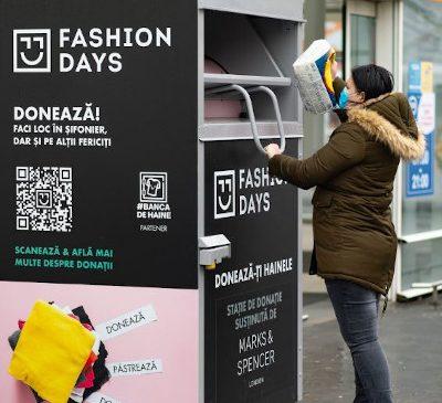 Donează-ți hainele, e de bun simț. Fashion Days încurajează donațiile și în 2021 prin campania #donationdays