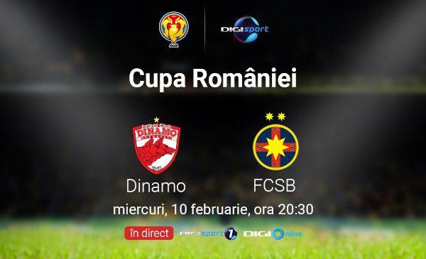 """Cupa României și """"Eternul derby"""", în direct, la Digi Sport"""