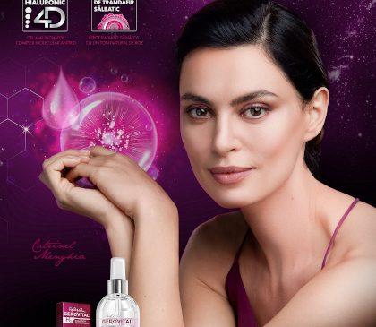Farmec lansează vârful inovației sale pe segmentul antirid și o anunță ambasador pe Catrinel Menghia