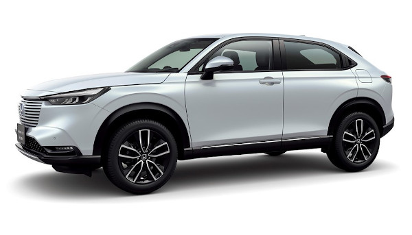 Honda Takes The Wraps Off All-New Hybrid Hr-V