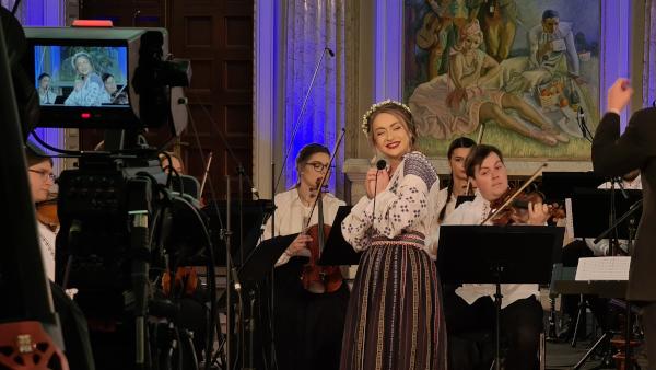 """Orchestra Română de Tineret – concert """"145 de ani de la naşterea lui Constantin Brâncuşi"""""""