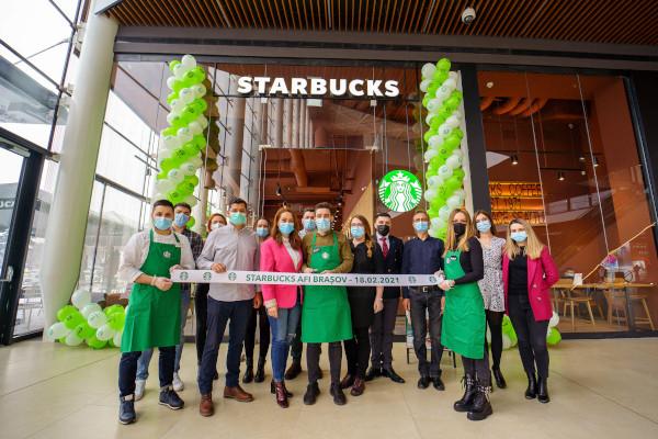 Starbucks AFI Brasov 2