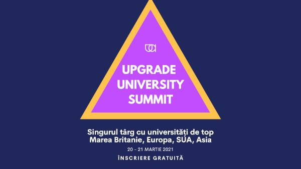 Târgul Upgrade University Summit pune studenții români față în față cu universități de top la nivel global