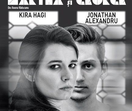 """Spectacolul de teatru """"Martha și George"""", cu Kira Hagi și Jonathan Alexandru, revine pe scena Teatrului Nottara"""