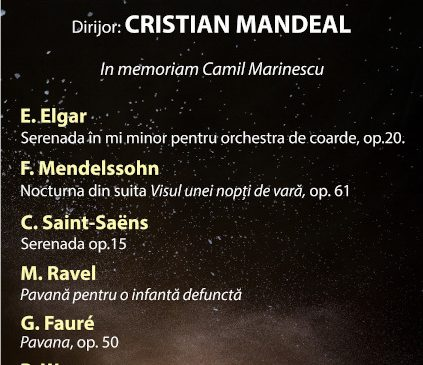 Concert in memoriam Camil Marinescu, LIVE de la SALA RADIO