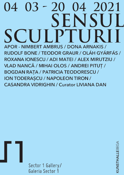 afis Sensul Sculpturii