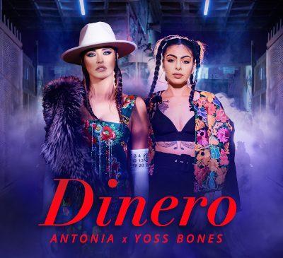 """ANTONIA lansează single-ul """"Dinero"""" în colaborare cu Yoss Bones"""
