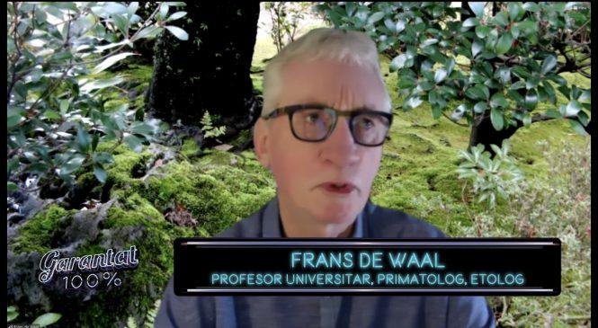 Despre noi, oamenii, şi despre întregul univers animal. Cu Frans de Waal, primatolog si etolog
