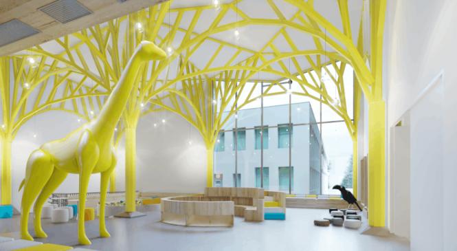 TESSERACT ARCHITECTURE ajunge la o cifră de afaceri de aproape 1 milion de euro și 500.000 mp de spitale și spații industriale proiectate