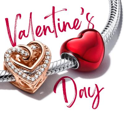 Oferă iubire de Valentine's Day cu Pandora