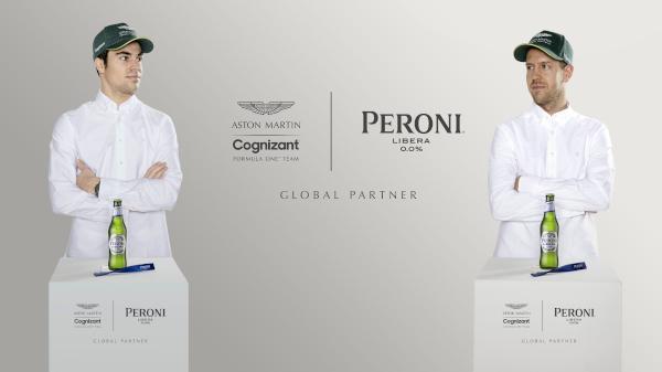 Peroni Libera 0.0% Aston Martin Cognizant