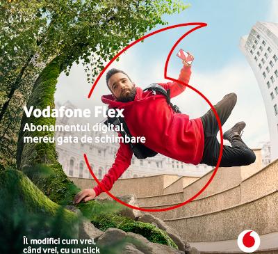 Vodafone România lansează Flex, primul abonament complet digital disponibil pe piață