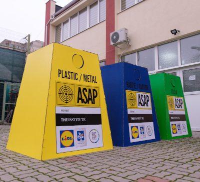 ASAP România începe programul pilot de colectare selectivă a deșeurilor în unitățile de învățământ din Sectorul 6 al Capitalei
