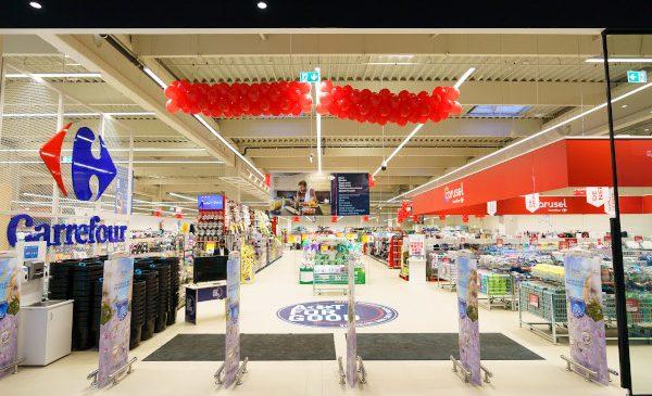 Carrefour deschide primul hipermarket 100% Self Check-out și primul din Sfântu Gheorghe și continuă dezvoltarea ecosistemului de magazine și servicii la nivel național