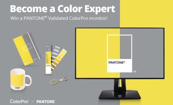 """ViewSonic și Pantone au anunțat tombola online """"Deveniți experți în culori"""""""