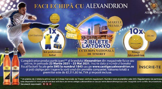 """Alexandrion Group anunță campania """"Faci echipă cu Alexandrion"""""""