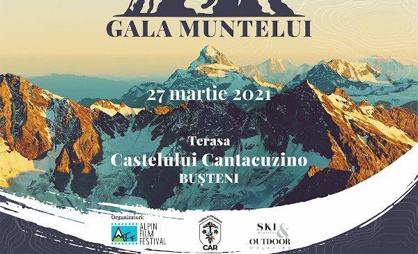 Gala Muntelui 2021 se va desfășura, fără spectatori, pe terasa Castelului Cantacuzino de la Bușteni și va fi transmisă online pe Facebook