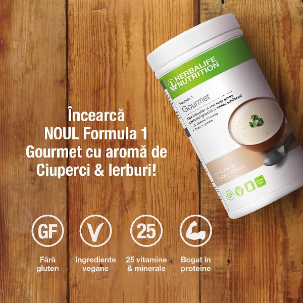 Herbalife Nutrition lansează primul Shake Gourmet