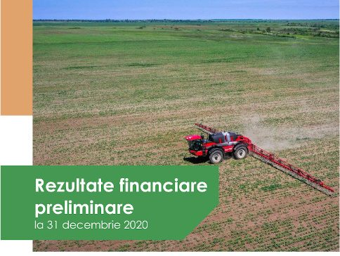 Holde Agri Invest raportează venituri de 47 milioane de lei și un profit net de peste 5 milioane lei pentru anul 2020