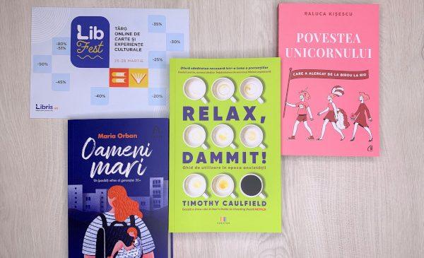 LibFest, maraton pentru iubitorii de carte – 130 de lansări și dialoguri cu autorii momentului. Programul complet al târgului de carte organizat de Libris.ro