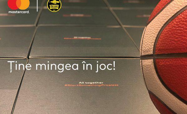 """Mastercard lansează campania """"Ține mingea în joc!"""" și aduce baschetul mai aproape de fanii acestui sport și de publicul larg"""
