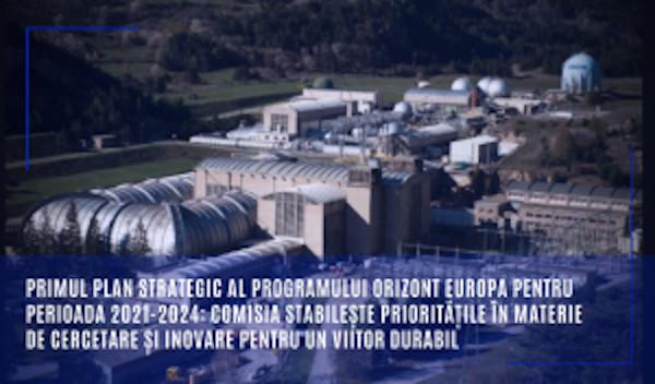 Primul plan strategic al programului Orizont Europa pentru perioada 2021-2024: Comisia stabilește prioritățile în materie de cercetare și inovare pentru un viitor durabil