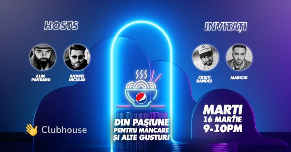 Pepsi România își dă întâlnire cu fanii în cel mai exclusivist club din oraș – Clubhouse