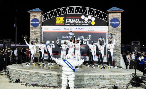Podium dublu pentru BMW Team RLL în Cursa de 12 ore de la Sebring